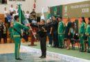 Abandera el Rector Alfredo Barrera a los 122 deportistas que representarán a la UAEM en la Universiada Nacional 2019