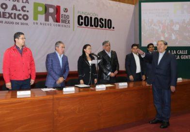 ALEJANDRA DEL MORAL TOMA PROTESTA A FERNANDO ALBERTO GARCÍA CUEVAS, PRESIDENTE DE LA FUNDACIÓN COLOSIO