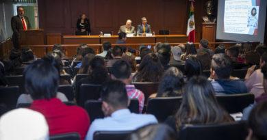 CONFERENCIA EN LA UAEM PARA PREVENIR SECUESTRO Y EXTORSIÓN