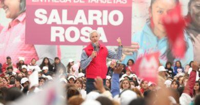 YA BENEFICIA SALARIO ROSA A MÁS DE 204 MIL MUJERES DEL EDOMÉX; ALFREDO DEL MAZO