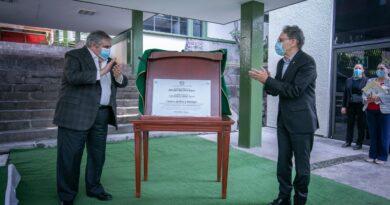 Alfredo Barrera inauguró el Centro de Paz y Diálogo de laUAEM
