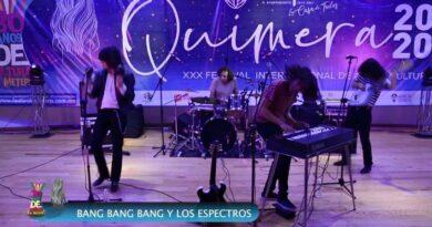EL ROCK SE HACE PRESENTE EN QUIMERA, NORTEC SATURA LAS REDES
