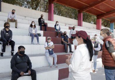 EN COMUNIDADES INFORMA GABY GAMBOA A LOS METEPEQUENSES LAS ACCIONES REALIZADAS EN 2020
