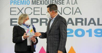 ENTREGA GEM PREMIO MEXIQUENSE A LA EXCELENCIA EMPRESARIAL 2019