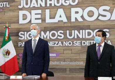 HACE UN LLAMADO ALFREDO DEL MAZO A MEXIQUENSES A NO BAJAR LA GUARDIA ANTE CRECIMIENTO DE CONTAGIOS POR COVID-19