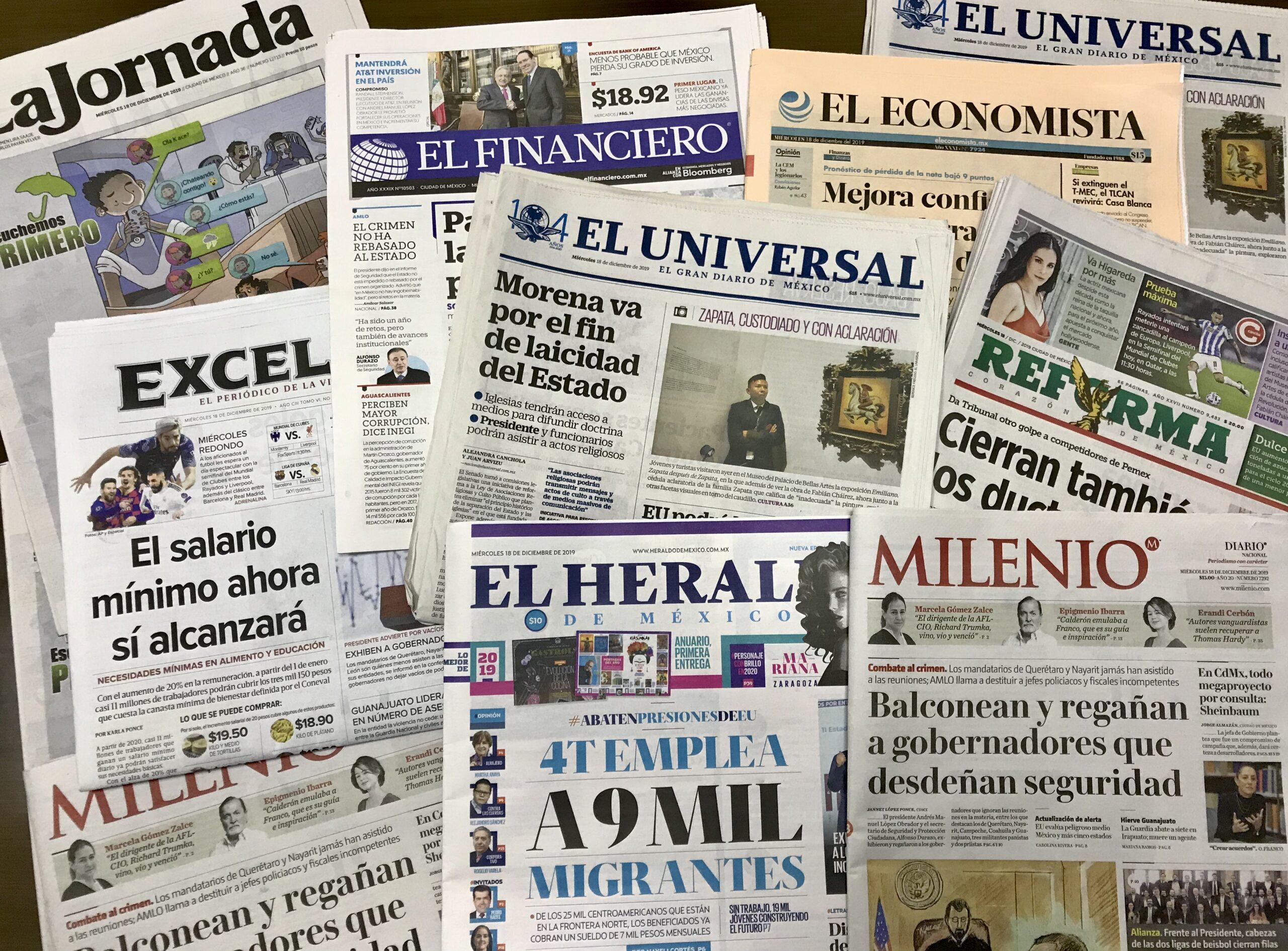 Alebrijes en Cuadratines / Nuevo periodismo oficial