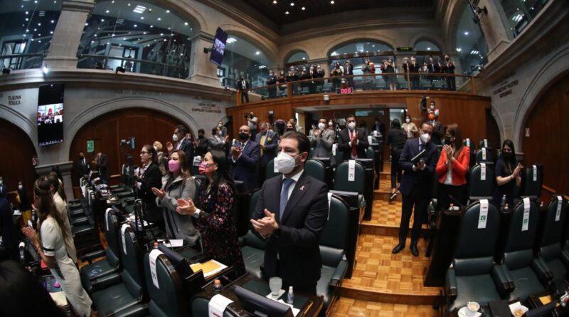 RECONOCIMIENTO DE DIPUTADOS DEL PRI AL TRABAJO DEL PERSONAL DEL SECTOR SALUD DEL ESTADO DE MÉXICO